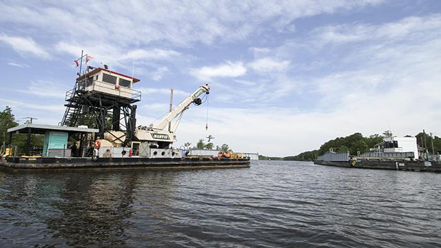 North Landing Bridge Initial Repairs Complete