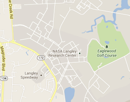 NASA Langley Map - Pics about space