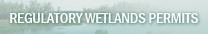 Regulatory Wetlands Permits